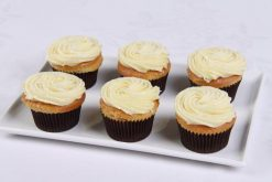 White Chocolate Mud Cupcates
