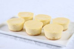 Baby Baked Cheesecakes Plain