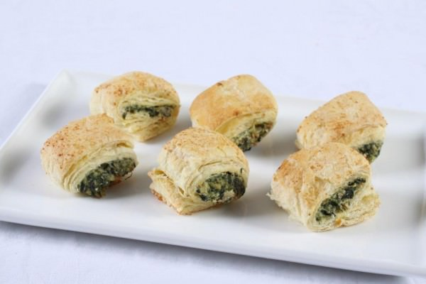 Spinach and Fetta Rolls