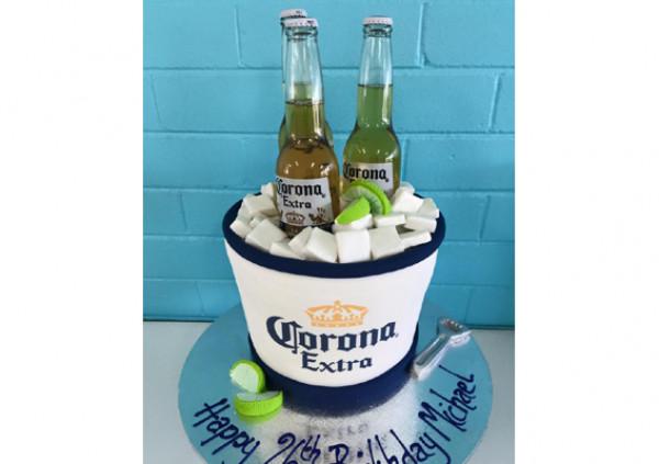 Corona Bucket - Cakes 2 U