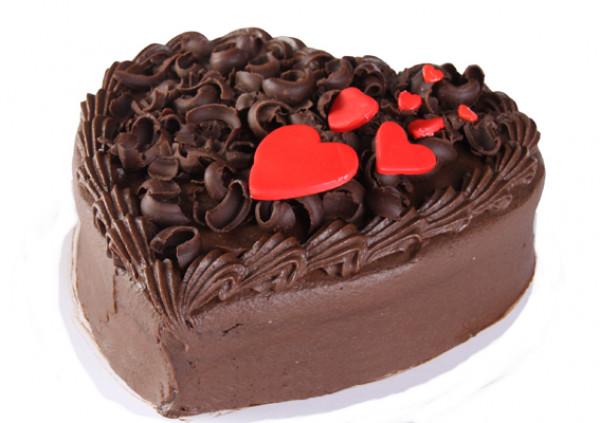 Small Heart Cake - Cakes 2 U