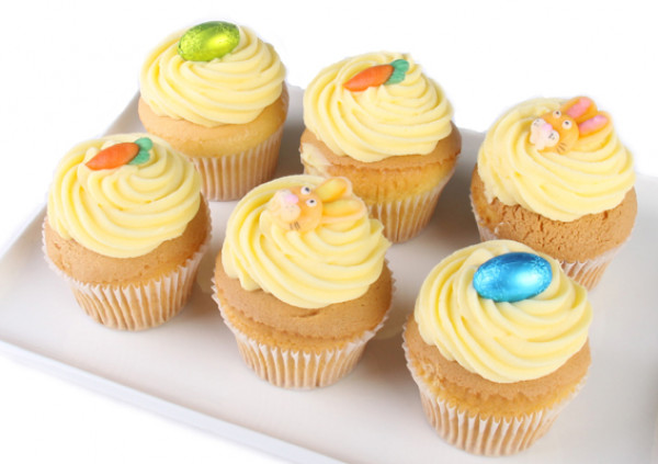 Easter Cupcakes - 7cm - Gluten Free vanilla