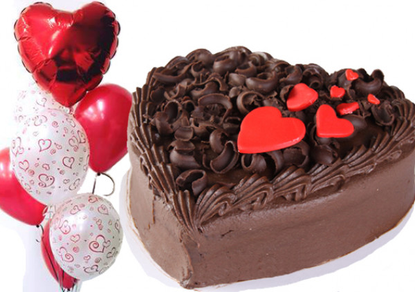 Large Heart Cake - PACKAGE DEAL