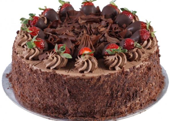 Chocolate Strawberry Temptation Cake