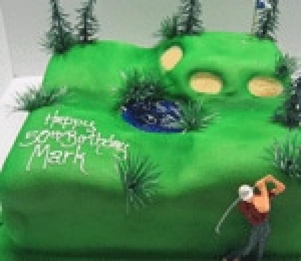 Golf Course - Cakes 2 U
