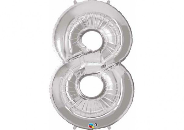 Foil Number Balloon '8'