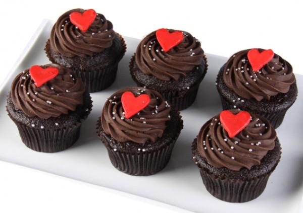 Valentine's Cupcakes – chocolate