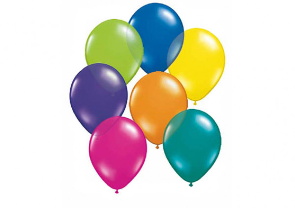 Assorted Coloured Balloons