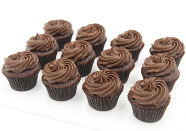 Gluten Free Chocolate Cupcakes - 4cm
