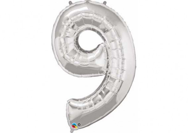 Foil Number Balloon '9'