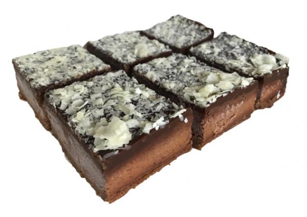 Gluten Free Chocolate Rocher Slice