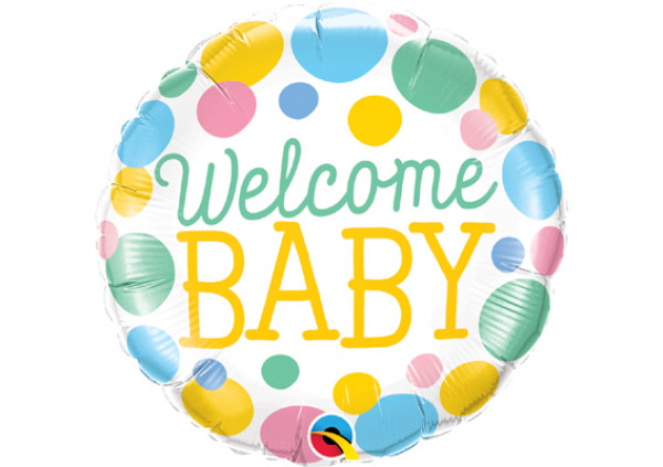 Welcome Baby Foil Balloon