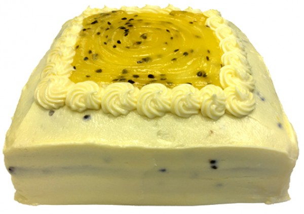 Passionfruit Banana Cake – Larger